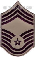 E9 CHIEF MASTER SERGEANT ABU (LARGE Sew On)