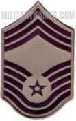 E9 CHIEF MASTER SERGEANT ABU (SMALL Sew On)