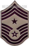 E9 COMMAND CHIEF MASTER SERGEANT ABU (LARGE Sew On)