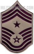 E9 COMMAND CHIEF MASTER SERGEANT ABU (SMALL Sew On)