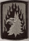 12TH AVIATION BDE ACU CLOTH PATCHES