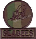 SEABEE PATCHES
