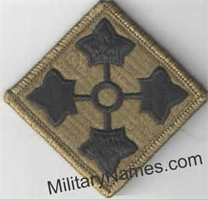 OCP 4th INFANTRY DIVISION UNIT PATCHES