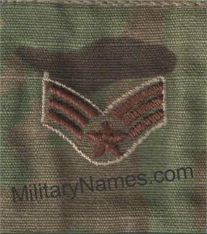 Air Force OCP GORTEX SLIDE ON RANKS (SPICE BROWN THREAD)