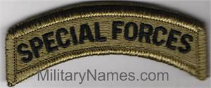 SPECIAL FORCES OCP TABS with HOOK  Fastener