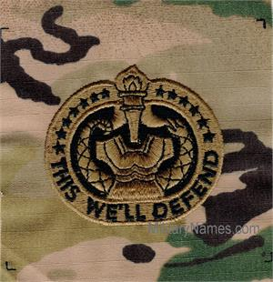 OCP DRILL INSTRUCTOR PATCHES - Sew On