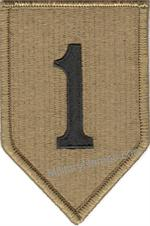 OCP 1ST INFANTRY DIVISION UNIT PATCHES