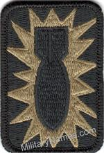 OCP 52nd ORDNANCE GROUP UNIT PATCHES