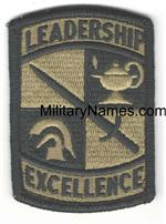 OCP ROTC CADET CMD LEADERSHIP & EXCELLENCE PATCHES
