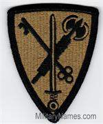 OCP 42ND MILITARY POLICE UNIT PATCHES