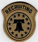 OCP U.S. ARMY RECRUITING CMD UNIT PATCHES