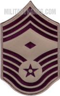 E9 1ST SERGEANT ABU (LARGE Sew On)