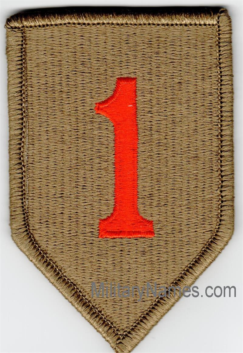 OCP BIG RED ONE UNIT PATCHES