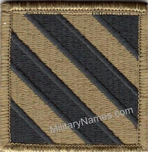 MULTICAM 3RD INFANTRY DIVISION UNIT PATCHES