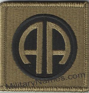 MULTICAM 82nd AIRBORNE DIVISION PATCHES