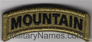 MOUNTAIN OCP TABS with HOOK  Fastener