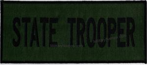OLIVE DRAB PANEL PATCHES