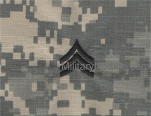 ACU RANK Insignia WithOut Hook Sew On (CHEST)