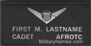AFJROTC BLACK LEATHER BADGES