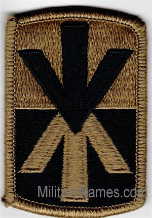 OCP 11th AIR DEFENSE ARTILLERY BRIGADE UNIT PATCHES