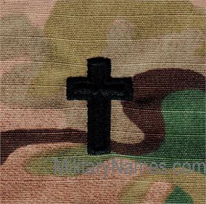 OCP CHAPLAIN INSIGNIA WITH Hook  Fastener