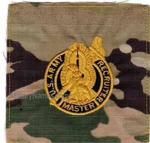 OCP ARMY RECRUITER MASTER Sew On
