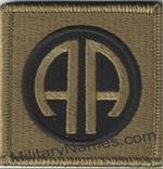 OCP 82nd AIRBORNE DIVISION PATCHES