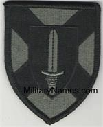 ACU ALABAMA SERVICE CORPS SSI PATCH with Hook Fastener