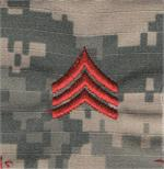 Custtom ACU Rank with Hook Fastener
