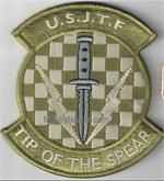 MULTICAM U.S.J.T.F. UNIT PATCH WITH Hook Fastener