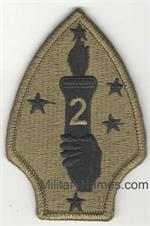 OCP 2ND MARINE DIVISION PATCH