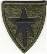 OLIVE DRAB TEXAS STATE GUARD UNIT PATCHES