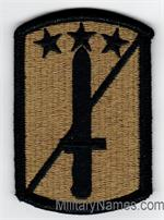 OCP 170TH INFANTRY BRIGADE UNIT PATCHES