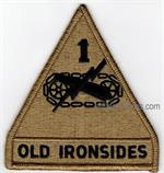 OCP 1ST ARMORED DIVISION UNIT PATCHES