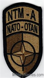 OCP NATO TRAINING MISSION - AFGHANISTAN PATCHES