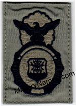 ABU SECURITY POLICE BADGES with Hook Fastener
