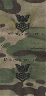 MULTICAM  U.S. NAVY SEW-ON RANK